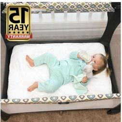 Little One's Pad Pack N Play Crib Mattress Cover - Fits All