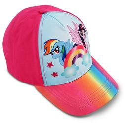 Hasbro My Little Pony Rainbow Dash Cotton Baseball Cap, Litt