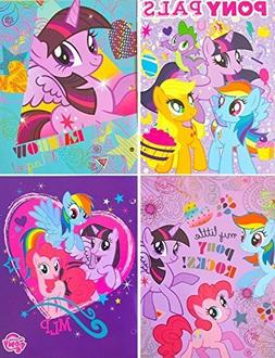 My Little Pony Two Pocket Portfolio Folders - Set of 2 Assor