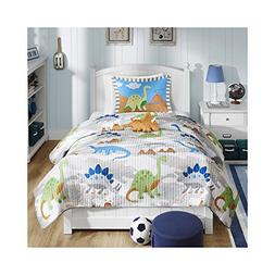 Mi Zone Kids Little Foot Twin Bedding Sets Boys Quilt Set -