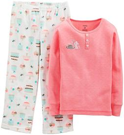 Girls Carter's 2pc. Mouse Pajama Set 5, Mouse Print