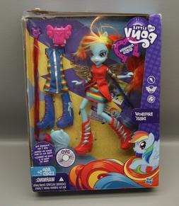 My Little Pony Equestria Girls Rainbow Dash Hasbro Set New I
