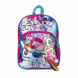 "My Little Pony Galaxy Girl 16"" Backpack with Hair"