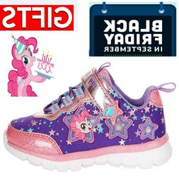 MY LITTLE PONY Light-Up Shoes Sneakers Toddler Size .8 9 10.