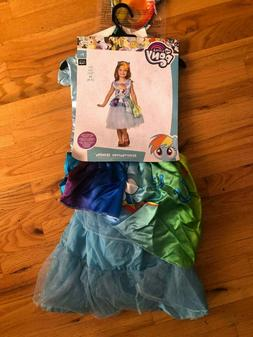 My Little Pony Rainbow Dash Costume made by Disguise Size 7-