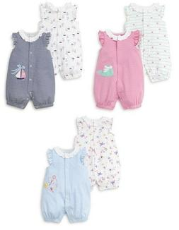 New Little Me Baby Girl's 2PC Rompers Set Pick Size & Color