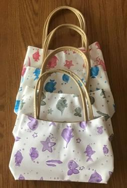 New Handbag Purse for Little Girls Purple Blue Green Beach T