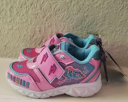 New Little Girls Light Up My Little Pony Shoes Size 7