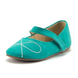 New Little Toddler Girls Cute Mary Jane Flats Round Toe Soft