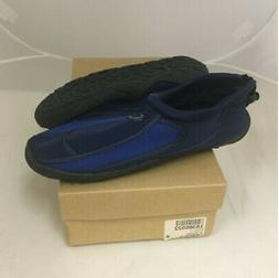 NEW Mens Starbay Aqua Socks Water Shoes Navy Blue Size 8 M
