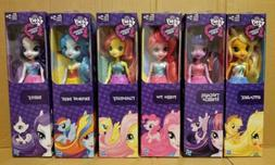 "New My Little Pony Equestria Girls 9"" Dolls Complete Set of"