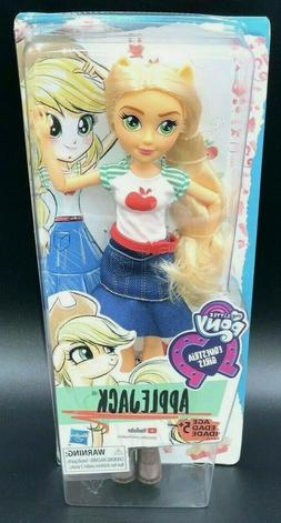 NEW My Little Pony Equestria Girls AppleJack MLP Doll 11 Inc