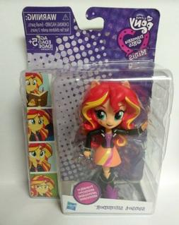 NEW HASBRO MY LITTLE PONY EQUESTRIA GIRLS MINIS SUNSET SHIMM