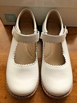 New Elephantito White Leather Mary Jane Shoes Little Girls S