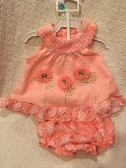 nwt baby girls 2 pc outfit top