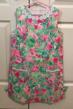 NWT Lilly Pulitzer Little Girls Classic Shift In Raz Berry C