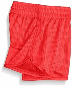 NWT Under Armour Little Girls Essential Mesh Shorts Size 4 R