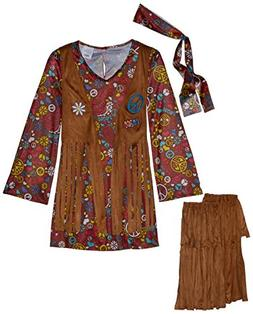 Fun World Costumes Child Peace & Love Hippie Costume Medium