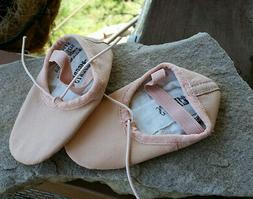 Pink Ballet Shoes Slippers, Little Girls child size 8.5, Tod