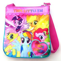 My Little Pony Power Girls Crossbody Bag Purse Rainbow Dash