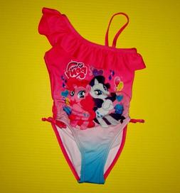 My Little Pony Rarity Pinkie Pie 1 Piece Pink Swimsuit 2T