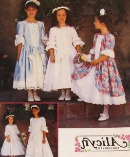 McCalls 8062 Little Girls S3 Special Occassion Flower Girl P