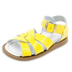 Salt Water 881-YELLOW: Girls Yellow Salt Water by Hoy Shoe T