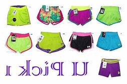 Under Armour Shorts Girls Little Athletic Sports Active UA S