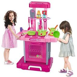 BFOEL Simulation Kitchen Appliance Oven Cooking Playset Cust