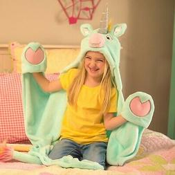 Stardust Unicorn Blanket for Girls and Kids - Wearable and H