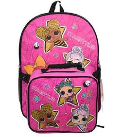 "FAB Starpoint Surprise 16"" Backpack with Lunch Bag"