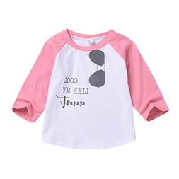 T-Shirts for Toddler Boys Girls Cool Like My Aunt Long Sleev