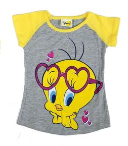 Tee Shirt Little Girls t Children Character Top Looney Tunes