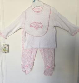 "Little Me "" Thank Heaven For Little Girls"" Outfit With B"