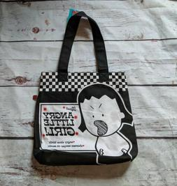The Original Angry Little Girl Small Tote Bag NWT