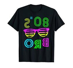 This Is My 80s Bro Neon T-Shirt 80's 90's Party Tee