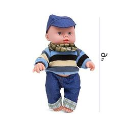 Kidsthrill Toddler 9-Inch Baby Doll – Push and Talk And So
