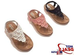 Toddler Little Kid Girl Soft Sole Crib Outdoor Shoes Summer