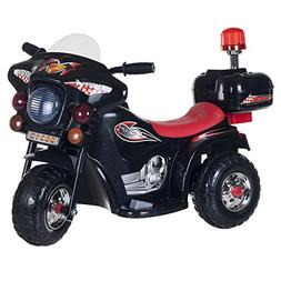 Ride on Toy, 3 Wheel Motorcycle for Kids, Battery Powered Ri