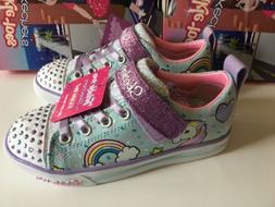 TWINLE TOES BY SKECHERS UNICORN LIGTH UP SHOES LITTLE GIRLS