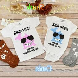 USA Newborn Kid Baby Boys Girls Little Brother Big Sister Ro