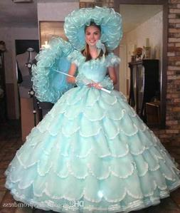 Vintage Ball Gown Quinceanera Dress Tiered Girls Party Pagea