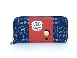 """Angry Little Girls Wallet """"I'm an American! I have a right t"""