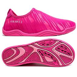 AMAWEI Water Shoes for Boys Girls Kids Quick Dry Beach Swim