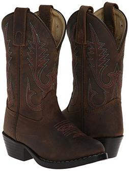 Smoky Mountain Girls Western Annie Western Boot Brown Distre