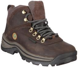 Timberland Women's White Ledge Mid Ankle Boot,Brown,8.5 M US