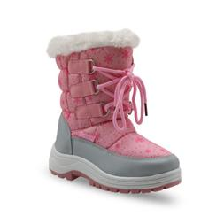 Winter Girls Mid-Calf Woolen Snow Boots Little Princess Outd