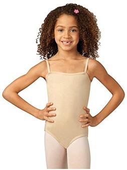 Capezio Youth Camisole Leotard, Nude-LG 12/14