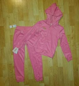 Little Girls JUICY COUTURE 2pc Jacket & Pants Outfit - Size